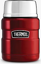 Thermos King Food Flask, Stainless Steel, 470ml