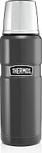 Thermos Stainless Steel 470ml King Flask - Gunmetal