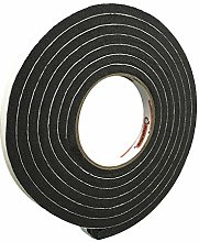 THERMWELL R512H 1/2 x 5/16 Black Rubber Tape by