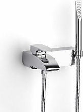 Thesis Bath Shower Mixer Tap Wall Mounted - Chrome