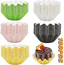 Thick Cupcake Molds|Muffin Paper Cups Pack of 100