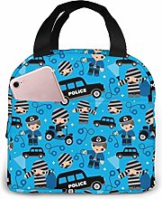 Thiefs Cobs and Robbers Police Lunch Bag for Women