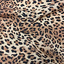 Thimbles Fabrics Animal Leopard Skin Digital