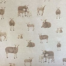 Thimbles Fabrics Classic Animals Sheep Design