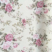 Thimbles Fabrics Floral Roses with Leaves Design