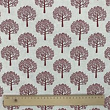 Thimbles Fabrics Mulberry Tree Red Design Cotton