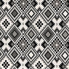 Thimbles Fabrics | New World Tapestry Black/White