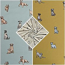 Thimbles Fabrics | Shabby Animals Dogs Design