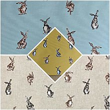 Thimbles Fabrics | Shabby Animals Hares Design Pop