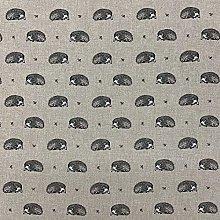 Thimbles Fabrics | Vintage Animals (Hedgehogs)