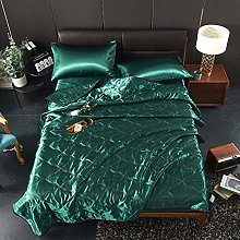 Thin Summer Blanket Ice Silk Air Conditioner Quilt