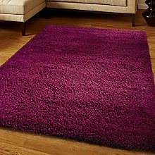 Think-Louder Shaggy Rug Runner Non Shed Carpet
