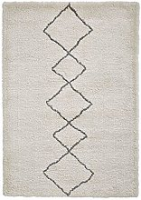 Think Rugs Atlas 01676 Heavy Weight Shaggy Pile