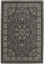 Think Rugs Heritage 4400 Silver - 160 x 230 Rug
