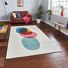 Think Rugs Inaluxe Transmission IX12 100% Wool