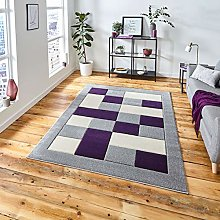 Think Rugs Matrix MT04 Hand Carved Rug,
