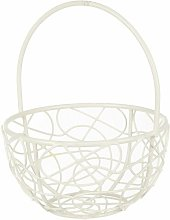 Thionville Wire Mesh Decorative Basket Lily Manor