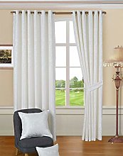 THL Luxury Bedspread and Matching Curtains Pair