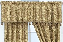 THL Luxury Heavy Jacquard Style Fully Lined Gold,