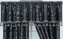 THL Luxury Heavy Jacquard Style Fully Lined Grey,