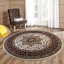 THL Traditional Vintage Rug Round 120x120cm Center