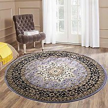 THL Traditional Vintage Rug Round 120x120cm Living