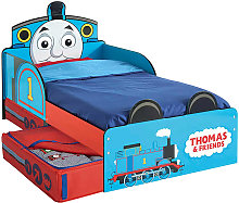 Thomas & Friends Toddler Bed with Drawer 143x77x67