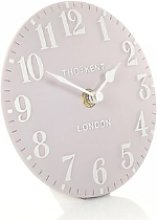 Thomas Kent - 6 Inch Arabic Dusty Pink Mantel Clock