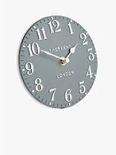 Thomas Kent Arabic Numeral Analogue Mantel Clock,