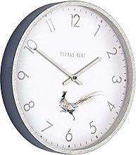 Thomas Kent Crofter Style Wall Clock Navy Blue 12