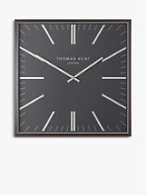 Thomas Kent Garrick Square Analogue Wall Clock,