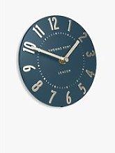 Thomas Kent Mulberry Mantel Clock, 15cm, Midnight