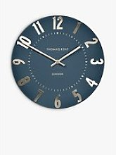 Thomas Kent Mulberry Wall Clock, 50cm