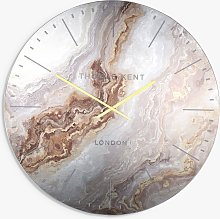 Thomas Kent Oyster Analogue Wall Clock, 66cm
