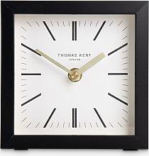Thomas Kent Square Analogue Mantel Clock, 14cm,