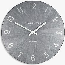Thomas Kent Wharf Analogue Wall Clock, Limestone,