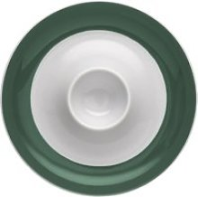 Thomas Sunny Day Herbal Green egg cup with tray
