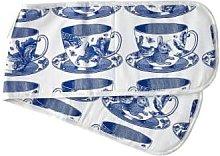 Thornback & Peel - Blue Teacup Double Oven Glove