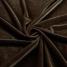 Three Crown Velvet Fabric Soft Strong Material -