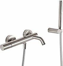 Three Griferia–Mixer Bath + Shower Hand