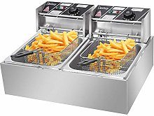 ThreeCat Electric Deep Fryer with Basket