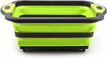 Threeinone Multifunctional Cutting Board, Foldable