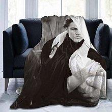 Throw Blanket Leonardo Dicaprio Young Cheap Super