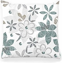 Throw Pillow Cover 18x18 Floral Stylish Pattern