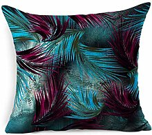Throw Pillow Cover Square Lush Bamboo Tropical