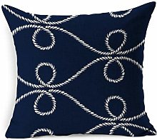 Throw Pillow Cover Square Twisted Artistic