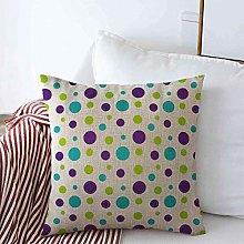 Throw Pillow Cushion Cover Case Baby Green Blue