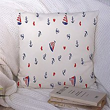 Throw Pillow Pillow Case Boat Baby Nautical Wave