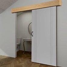 Thruslide Oak Veneer Pelmet Kit for Sliding Doors
