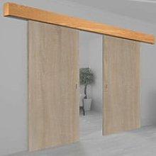 Thruslide Oak Veneer Prefinished Pelmet Kit for